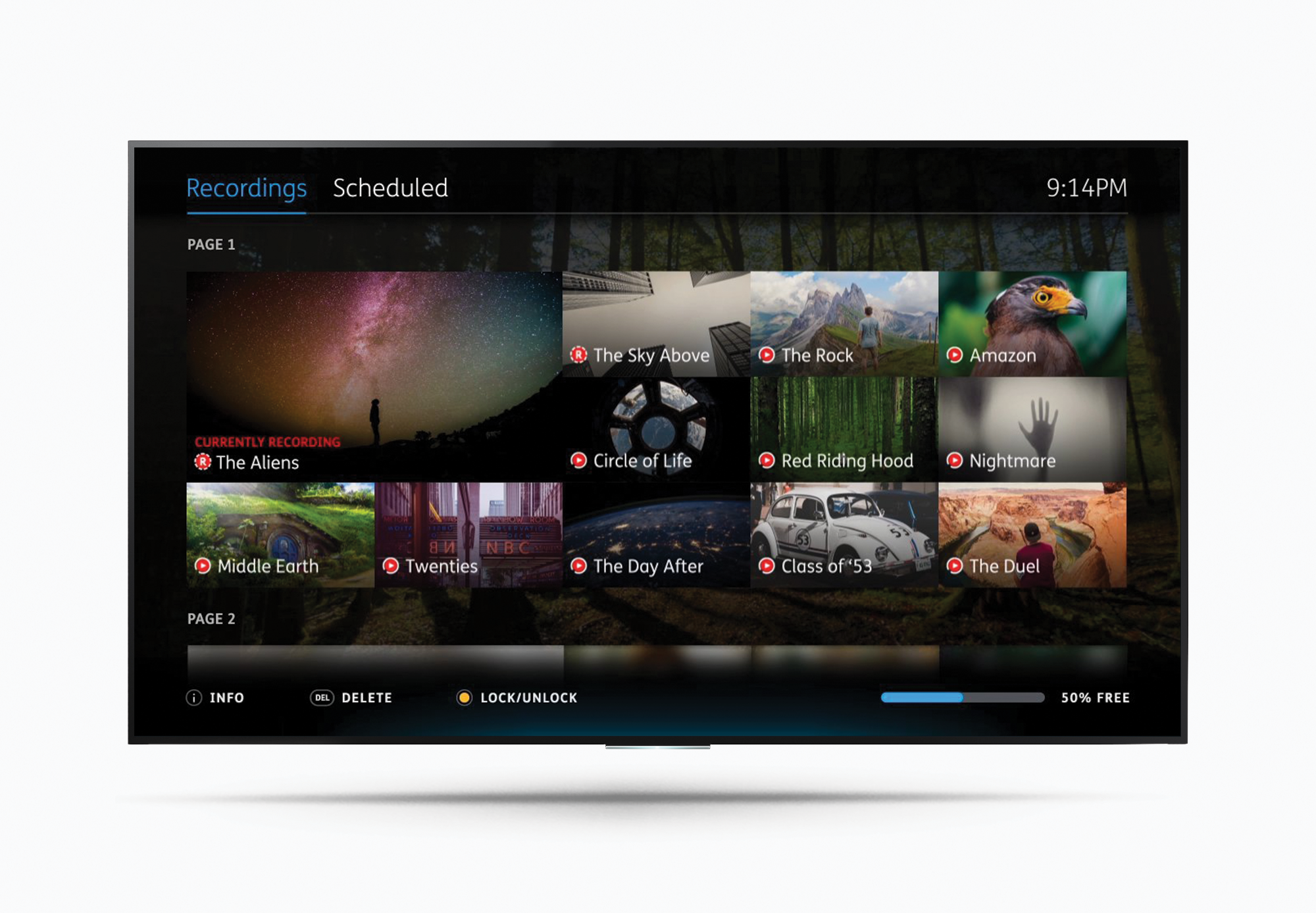 Humax Youview Recording